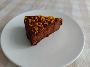 pastel choco y naranja 4