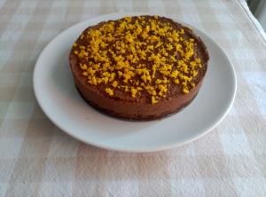 pastel choco y naranja 5